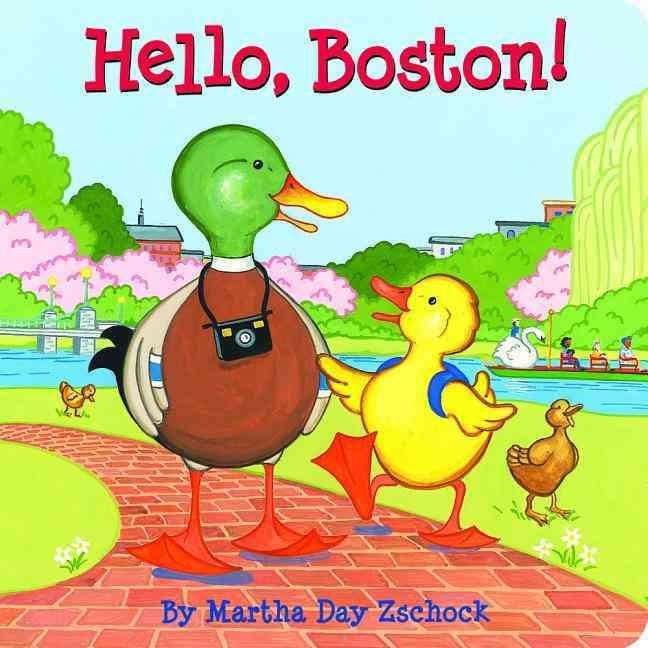 Hello Boston! By Zschock, Martha Day